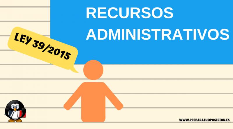 Recursos administrativos